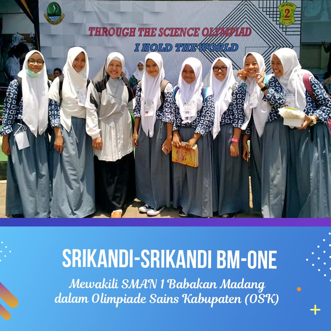 Srikandi BM-ONE dalam Olimpiade Sains Kabupaten Bogor