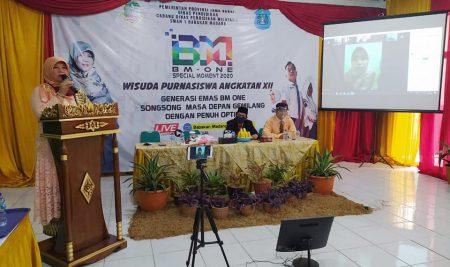 Wisuda Online SMAN 1 Babakan Madang