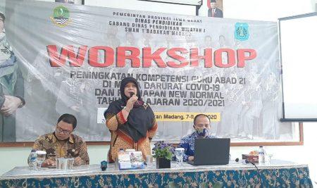 Workshop Peningkatan Potensi Guru di Masa Darurat COVID-19